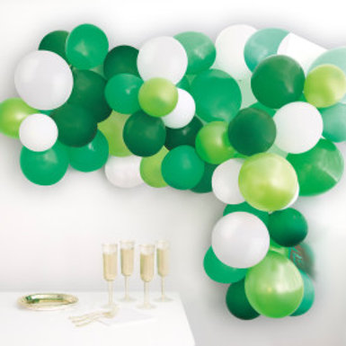 Green Balloon Arch Kit 40pc Assortment