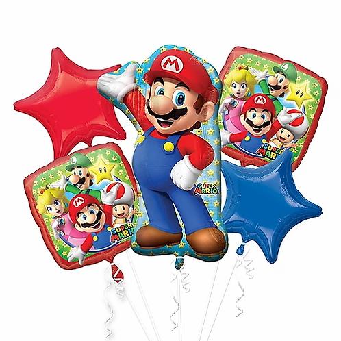 Birthday Mario Balloon Bouquet #14