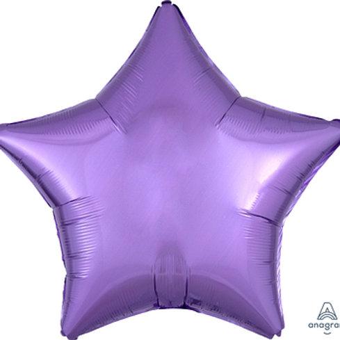 "18"" foil balloon lavender"