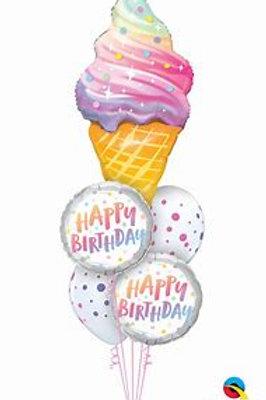 Ice cream cone Balloon Bouquet #58
