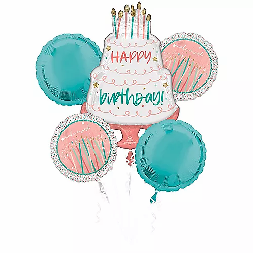 Happy Cake Day Balloon Bouquet