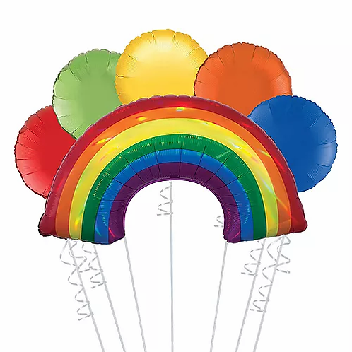 Rainbow Balloon Bouquet #22