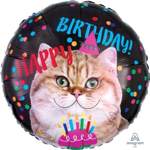 """18"""" foil Balloon Cat"""