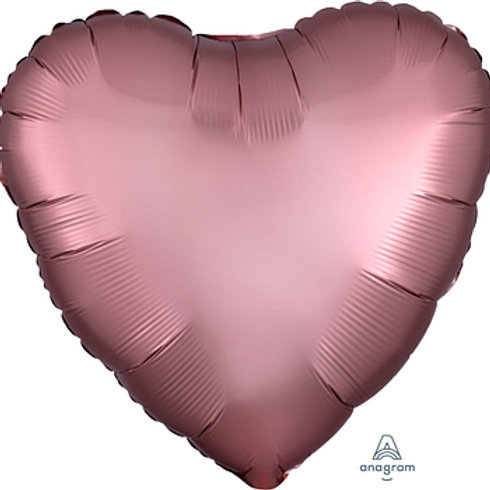 "18"" foil Balloon satin rose copper"