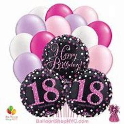 18 Birthday Bouquet #55