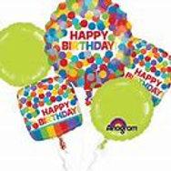 Rainbow Balloon Bouquet #77