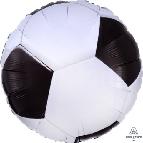 18in foil Balloon Soccer