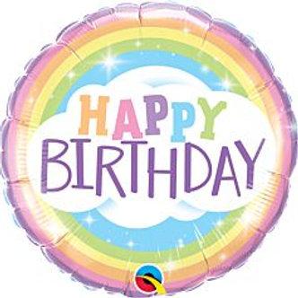 """18"""" foil Balloon Rainbow"""