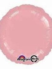 """18"""" foil Balloon pale pink"""