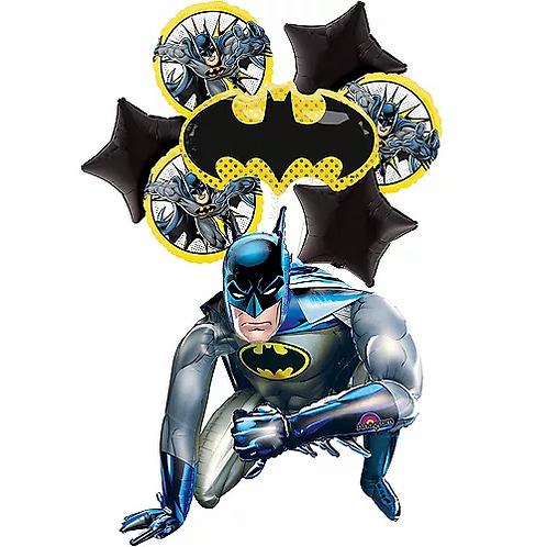 Deluxe Bat Man Birthday Balloon Package #24