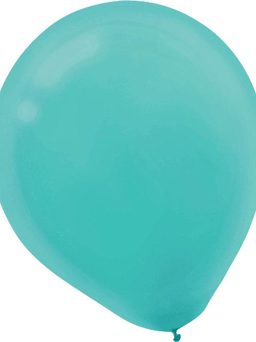 11 in aqua latex balloon