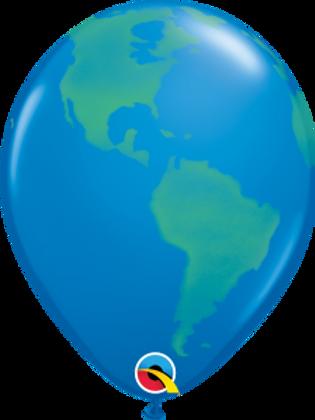 Earth 11 in earth balloon