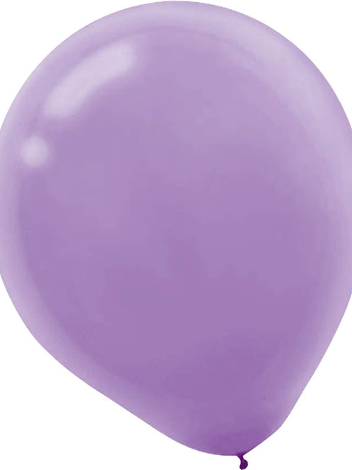 11 in lavender latex balloon