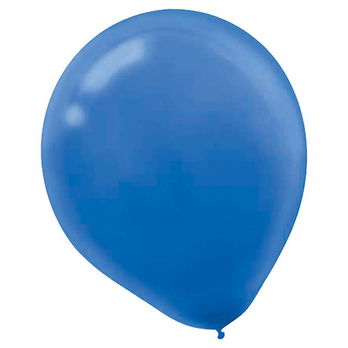 11 in Royal Blue latex balloon