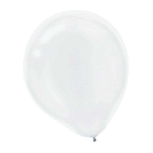 11 in white latex balloon