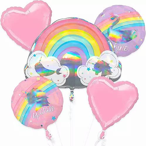 Birthday Sparkle and Shine Balloon Bouquet #33