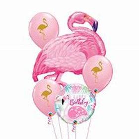 Flamingo Balloon Bouquet #75