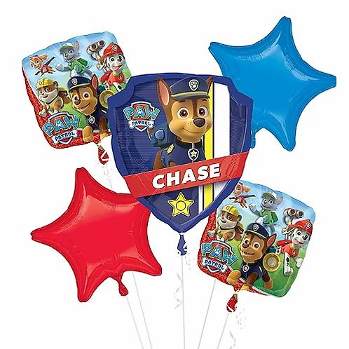 Birthday Paw Patrol Chase Balloon Bouquet #13