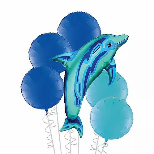 Dolphin Balloon Bouquet #23