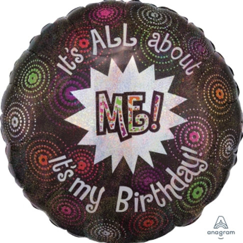 "18"" foil Balloon ""it's all about me"""