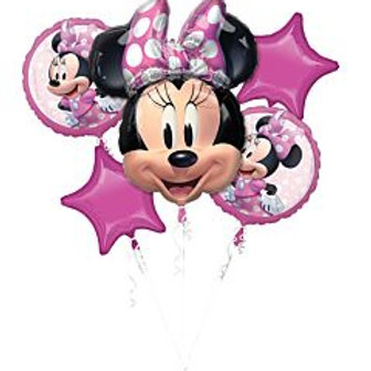 Balloon Bouquet Minnie Mouse #2