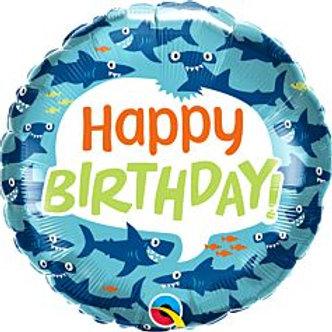 "18"" foil Balloon Shark"