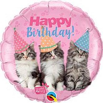 """18"""" foil Balloon Cats"""