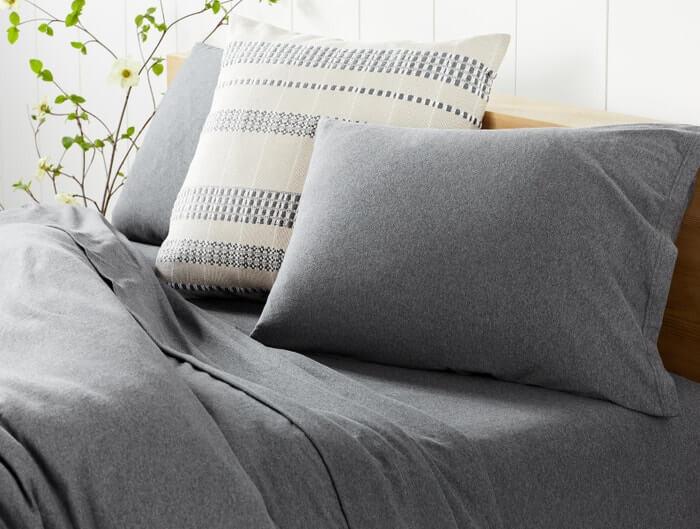 Coyuchi Organic Cotton Jersey Sheets