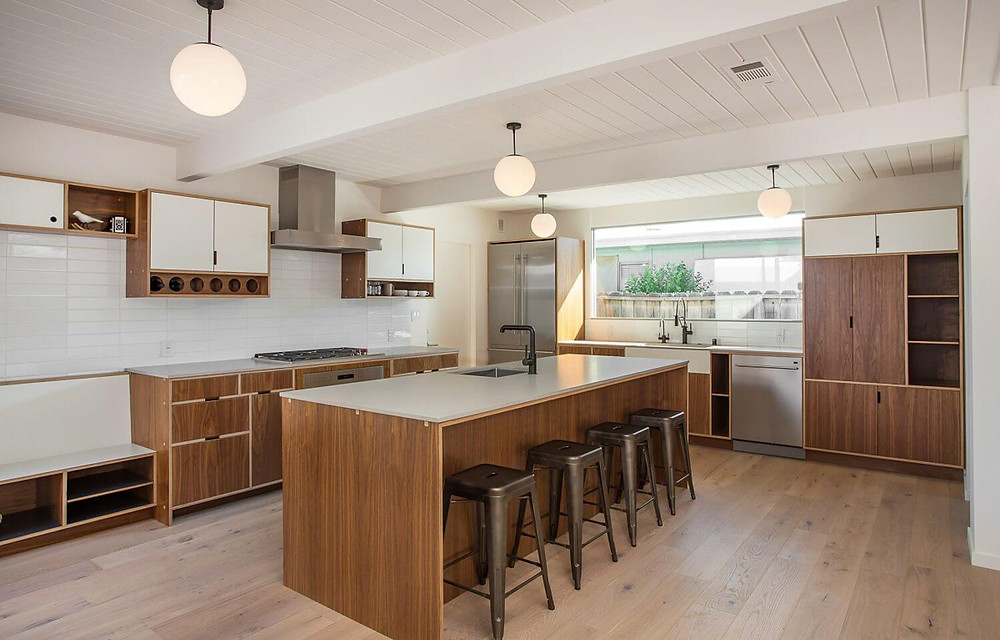Sustainable Design - Kitchen Cabinets by Kerf Design