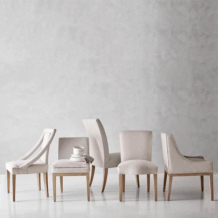Sustainable Design furniture FSC certified wood frame frame Sussex Dining Chair