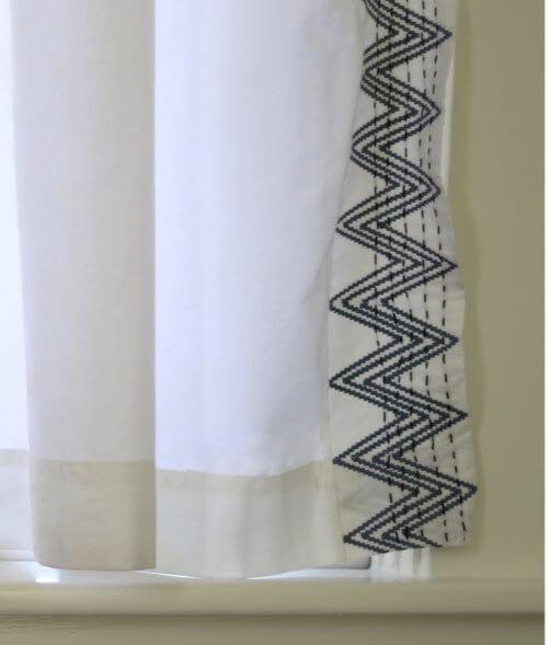 Plover organic curtain