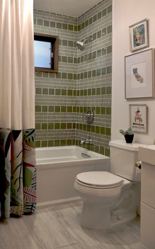 East Bay Midcentury Bathroom