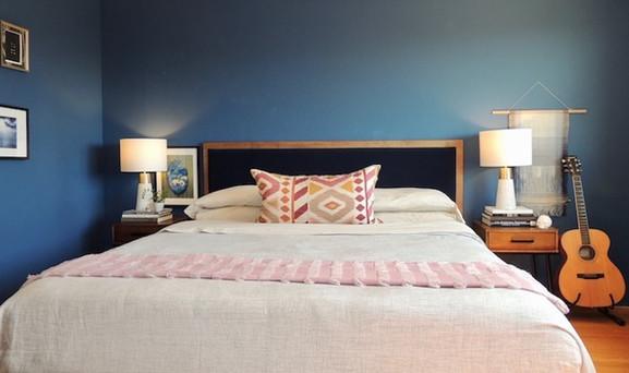 East Bay Midcentury Bedroom