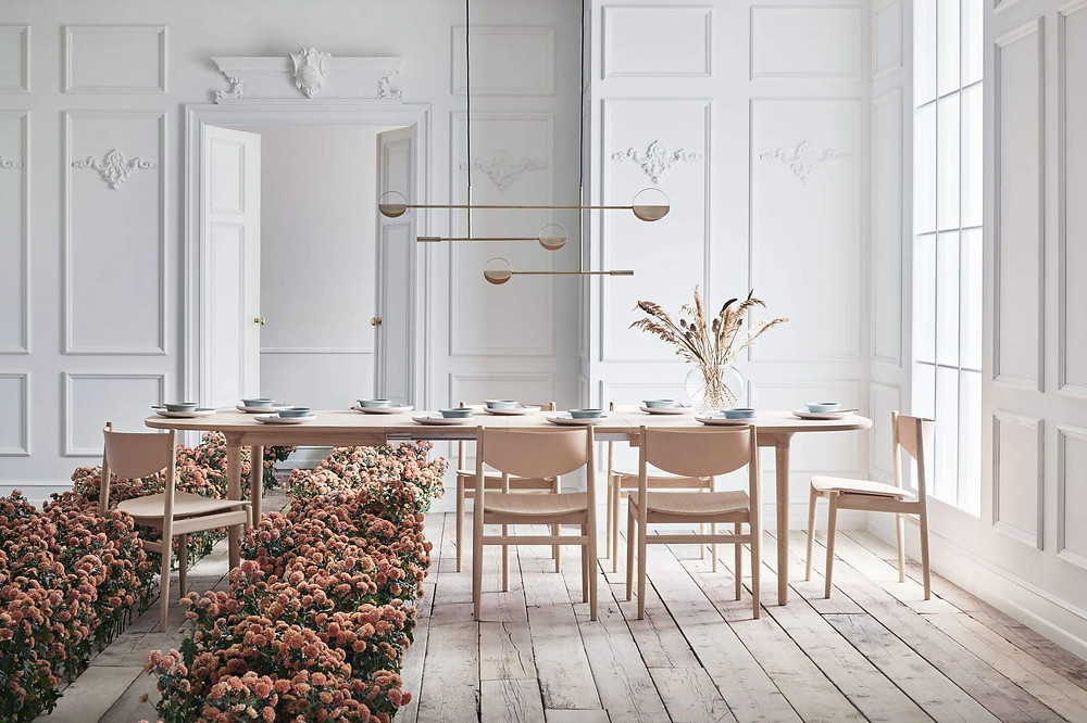Sustainably Designed Furniture - Bolia Yacht dining table - Designed by Glismand & Rüdiger