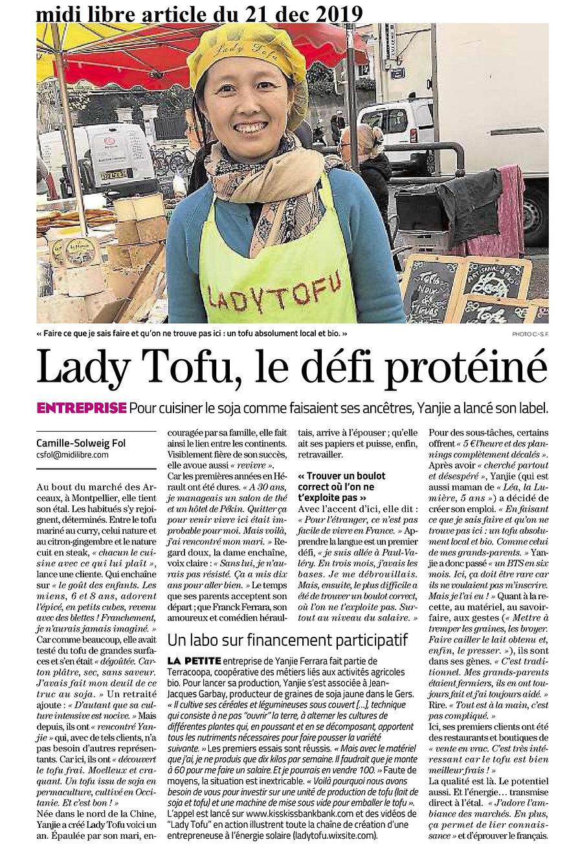 article midi libre lady tofu.jpg