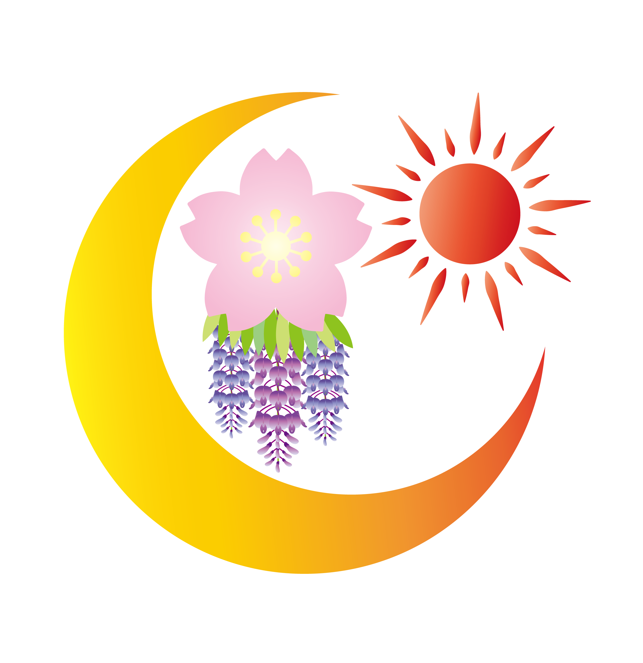 月、桜、富士、太陽-02 (1)