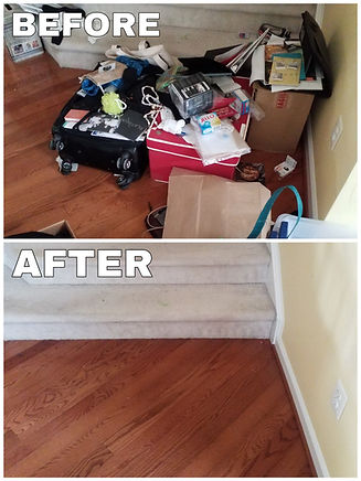 Clutter on your stairs_ Save yourself an