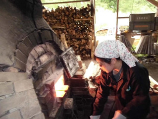 昭和村で窯焚きして見ませんか?