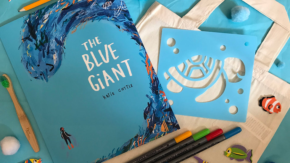 Read with Me - The Blue Giant