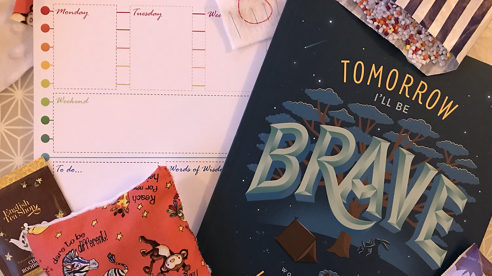 Crafty Mummy and Me: Tomorrow I'll Be Brave