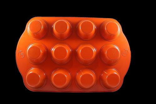 Orange Regular Muffin Pan (12 cup)
