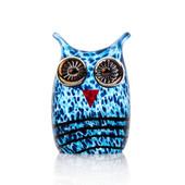 Mini Owl I Blue