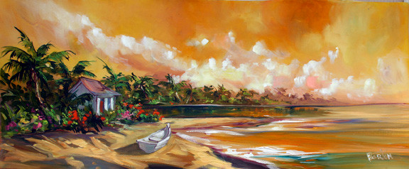 Tropical Memories.14x34.jpg