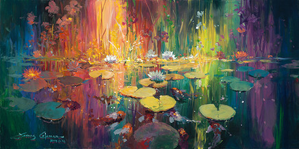 Soft Light on a Pond