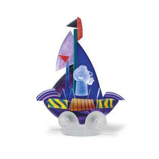 Sailor on Ship I Purple