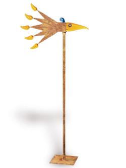Wind Bird I Yellow
