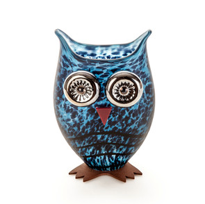 Owl I Blue