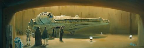 Boarding the Falcon