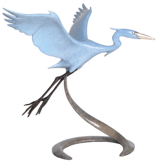 Medium Open Wing Heron