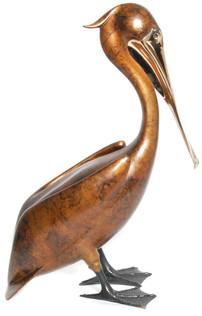 Standing Pelican